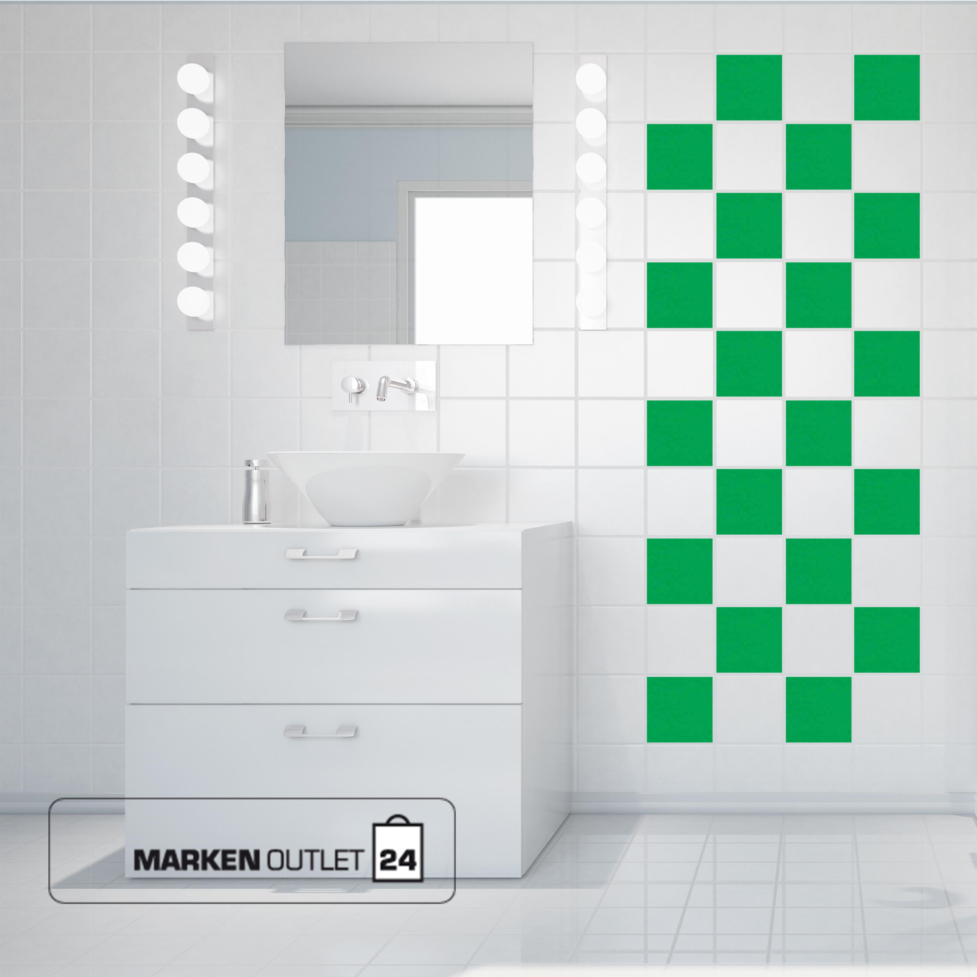 fliesenaufkleber 15 x 20 cm 100 stk kacheldekor. Black Bedroom Furniture Sets. Home Design Ideas