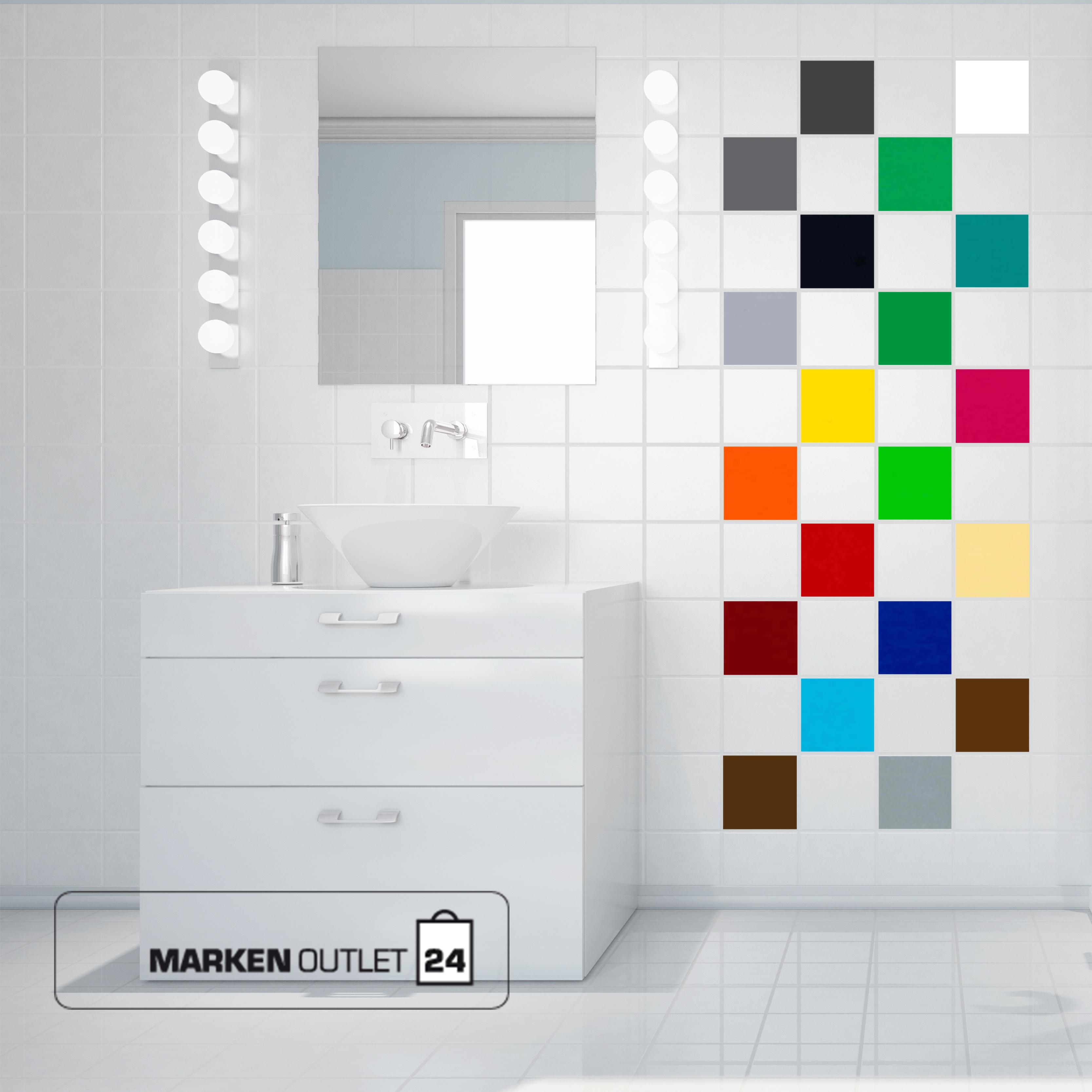 fliesenaufkleber 15 x 15 cm 100 stk kacheldekor fliesendekor k che bad fliesen ebay. Black Bedroom Furniture Sets. Home Design Ideas