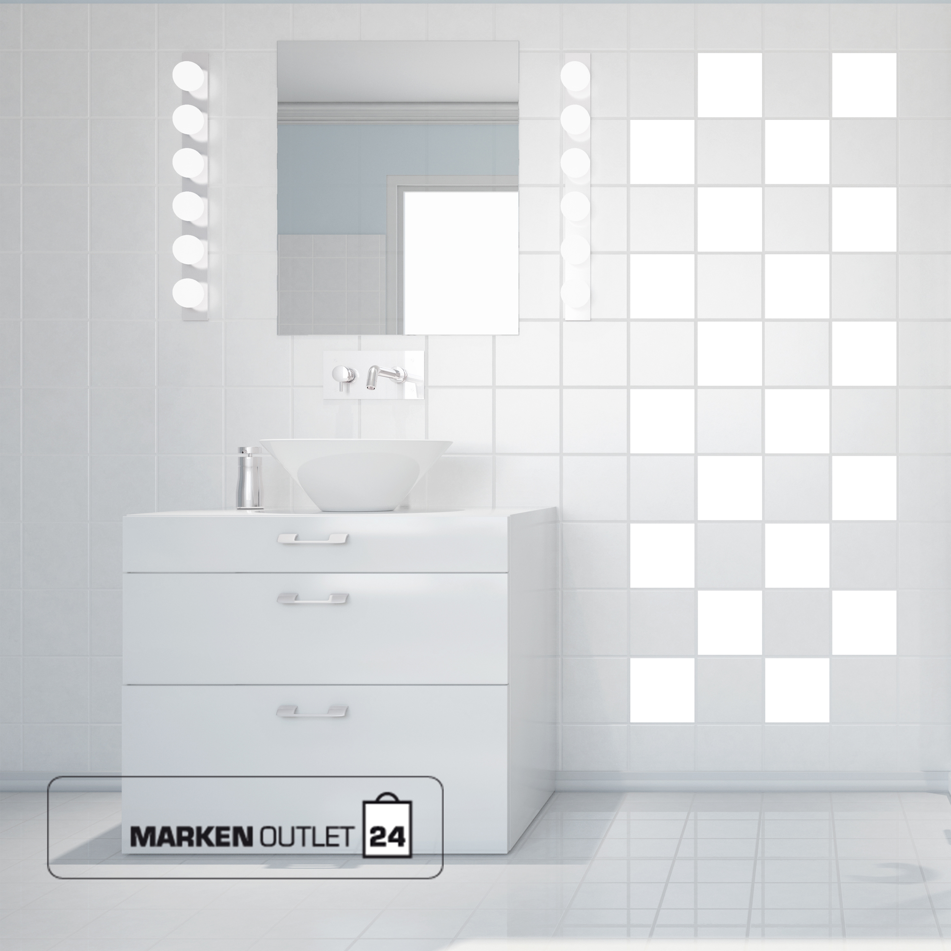 fliesenaufkleber 15 x 15 cm 100 stk kacheldekor. Black Bedroom Furniture Sets. Home Design Ideas